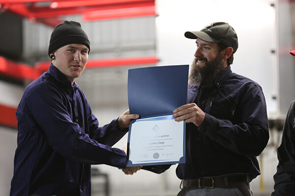 AWS Scholarship Recipient, Stephen Clamp